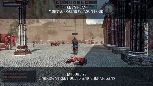 Episode 75: Tindrem Street Duels and Shenanigans | Let's Play: Mortal Online - Season Four