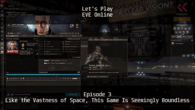 Episode 3: Like the Vastness of Space, This Game Is Seemingly Boundless | Let's Play: EVE Online