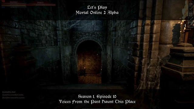 S1, Ep10. Voices From the Past Haunt This Place | Let's Play: Mortal Online 2 Alpha